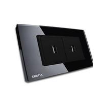 GRATIA USB Portable รุ่น GSUS02-B2x4 สีดำ