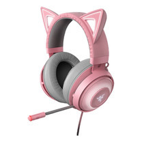 Razer หูฟังเกม Kraken Kitty Quartz Pink