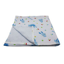 Little Wacoal baby towel blue colour ไซส์ 60 x 120 ซม.