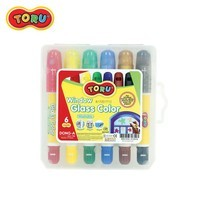 Dong-A Toru Glass Color ปากกาเขียนกระจก 6 สี