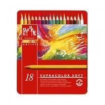Caran D'Ache ดินสอสีระบายน้ำ Supracolor 18 สี
