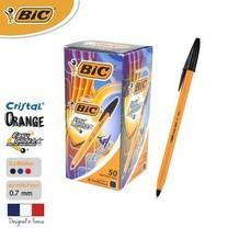 BIC ปากกาลูกลื่น Orange Fine 0.7 มม. (50 ด้าม/กล่อง) สีดำ