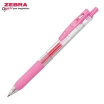 Zebra ปากกาหมึกเจล Sarasa Clip 0.5 มม. JJ15-LP หมึกสีชมพูอ่อน (12 ด้าม/กล่อง)