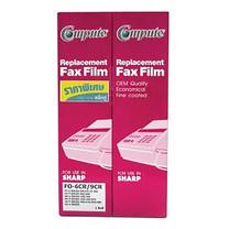 COMPUTE ฟิล์มแฟกซ์ FAX FILM for SHARP FO-6CR/9CR แพ็ก 2 ม้วน (กล่องละ 1 ม้วน X 2กล่อง)