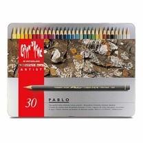 Caran D'Ache Pablo ดินสอสีไม้กันน้ำ 30 สี กล่องโลหะ