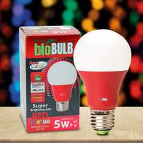 Bio Bulb LED E27A60 5 วัตต์ สีแดง