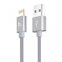 Hoco สายชาร์จ Apple UPF01 Gray