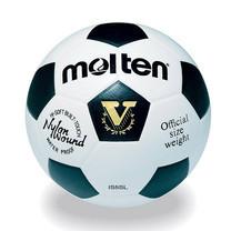 Thai Sports ฟุตบอล Molten หนังพียู (PU) หนังอัด ขนาดและน้ำหนักมาตรฐาน เบอร์ 5 สีดำ/ขาว รหัสสินค้า B2AIS5SL