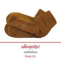 POKPONGTAO Diabetic Socks Non-slip Model ไซส์ 40-46 (2 แพ็ก)