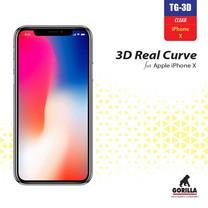 Gorilla กระจก iP X 3D Real Curve Black