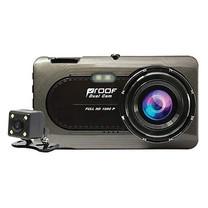 Proof กล้องติดรถยนต์หน้า-หลัง PF720 Full HD 1080P
