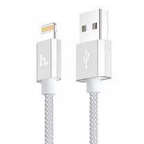 Hoco สายชาร์จ Apple UPF01 Silver