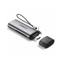 UGREEN รุ่น 50704 การ์ดรีดเดอร์พกพา USB-C TF/SD