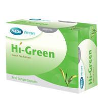 Mega We Care HI GREEN ชาเขียวสกัดเข้มข้น บรรจุ 30 แคปซูล