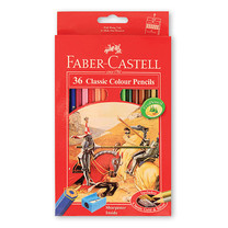 Faber Castell 36 Classic Colour Pencils in Paper Box