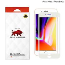 Bull Armors ฟิล์มกระจก iP7+/8+ White