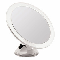 Titania Cosmetic mirror with Suction Cup Wall Mount