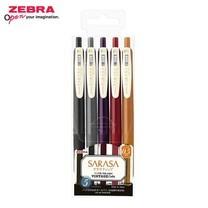 Zebra ปากกาหมึกเจล Sarasa Clip 0.5 มม. Vintage Color 5 สี JJ15-5C-VI2