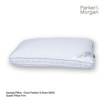 Parker & Morgan Georgia Duck Feather & Down 80/20 Pillow Queen ไซส์(นุ่มแน่น)