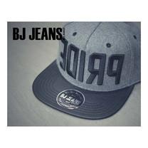 BJ JEANSหมวก snapback สีเทา BJAD-067-13-F