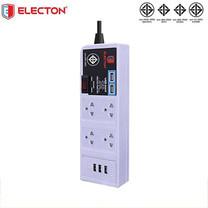 ELECTON สายพ่วงปลั๊ก USB WORK STATION 5 USB 4 ช่อง 3 เมตร รุ่น EP-US5403