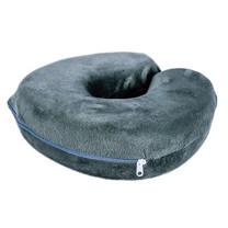 Syndex U-Shape หมอนรองคอ Memory Foam Pillow สีเทา