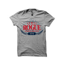 Rogue Men T-Shirt MST-26 Gray SizeL