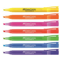 Faber Castell Textliner 38 Highlighter Pens Mix colour (7 ชิ้น/ แพ็ก)