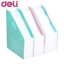 Deli B41102 แฟ้มตั้งโต๊ะ 13 ช่อง (คละสี 1 ชิ้น)