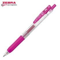 Zebra ปากกาหมึกเจล Sarasa Clip 0.5 มม. JJ15-MZ หมึกสีชมพูบานเย็น (12 ด้าม/กล่อง)