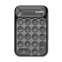 Mofii แป้นพิมพ์ตัวเลขไร้สาย 2.4 GHz รุ่น BISCUIT Grey