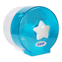 WSP กล่องใส่ทิชชู่ แบบม้วนเล็ก สีฟ้า