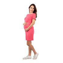 Bambino Materna ชุดคลุมท้องเดรสสั้น สีชมพู