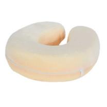 Syndex U-Shape หมอนรองคอ Memory Foam Pillow สีครีม