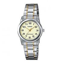 CASIO นาฬิกาข้อมือ รุ่น LTP-V001SG-9BUDF Silver
