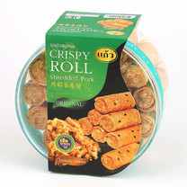 Crispy Rolls (Shredded Pork Flavoured) 150 ก.