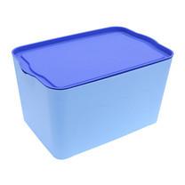 Q Line กล่องพลาสติก-สีฟ้า PL-002 (3 ชิ้น)