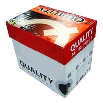 Quality กระดาษถ่ายเอกสาร A4 80แกรม แดง (5 รีม/กล่อง)