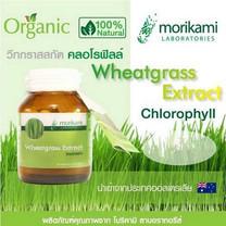 Morikami Wheatgrass Extract 500 มก. วีทกราสสกัด 500 มก. บรรจุ 30 แคปซูล