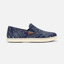 Olukai รองเท้าผู้หญิง 20360-DEXP W-PEHUEA PA'I TRENCHBLUE/PATCH 6 US