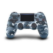 Playstation 4 Dualshock 4 Wireless Controller Blue Camouflage Limited Edition (Asia)