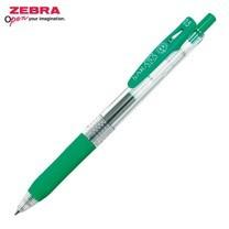 Zebra ปากกาหมึกเจล Sarasa Clip 0.5 มม. JJ15-G หมึกสีเขียว (12 ด้าม/กล่อง)