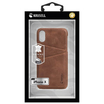 Krusell Case Sunne 2 Card Cover for iPhoneX