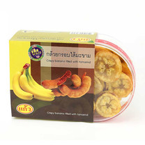 กล้วยอบกรอบไส้มะขาม 140 ก.