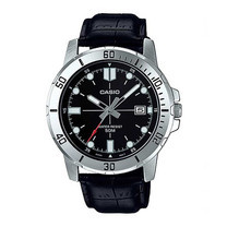 Casio นาฬิกาข้อมือ รุ่น MTP-VD01L-1EVUDF Black