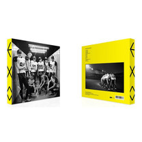 CD EXO The 2nd Repackage Album Love Me Right (Korean Ver.)