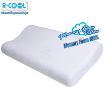 R-Cool Memory Foam Curve Pillow (ขนาดใหญ่)