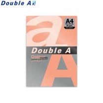 Double A กระดาษสี A4 หนา 75 แกรม (แพ็ก 100 แผ่น) สีพันช์นีออน (Neon Punch)