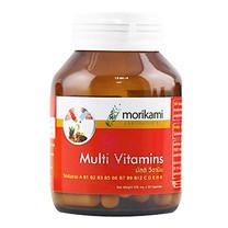 Morikami Multi Vitamins 500 มก. วิตามินรวม 500 มก. บรรจุ 30 แคปซูล