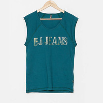 BJ Jeans T-Gilded Graphic Muscle